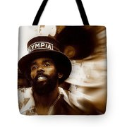 New Orleans Olympia Second Line Grand Marshall Tote Bag