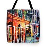 New Orleans Rainy Day Tote Bag
