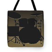 New Orleans Saints Drum Set Tote Bag
