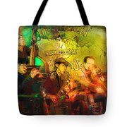 New Orleans Spotted Cat 03 Madness Tote Bag