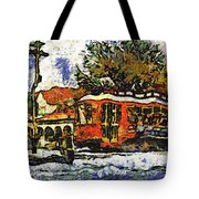 New Orleans Streetcar Paint Vg Tote Bag