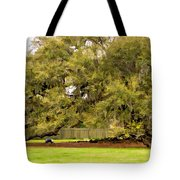New Orleans' Tree Of Life 2 Paint Tote Bag