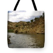 New Photographic Art Print For Sale Banks Of The Rio Grande New Mexico Tote Bag