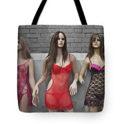 Sex Sells Mannequins In Lingerie In Downtown Los Angeles  Tote Bag