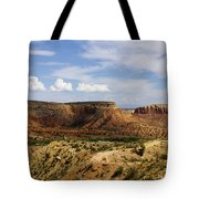 Ghost Ranch Landscape New Mexico 12 Tote Bag
