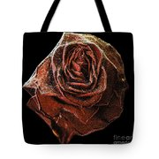 Perfect Gothic Red Rose Tote Bag