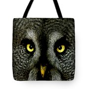 New Photographic Art Print For Sale   Great Grey Owl Tote Bag