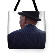 New Photographic Art Print For Sale   Iconic London Man In Bowler Hat Tote Bag