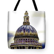 New Photographic Art Print For Sale   Iconic London St Paul's Cathedral Tote Bag