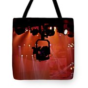 New Photographic Art Print For Sale Lights Camera Action Backstage At The American Music Award Tote Bag
