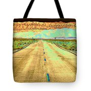New Photographic Art Print For Sale Long Road To The Valley Of Fire Tote Bag