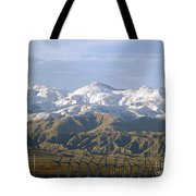 New Photographic Art Print For Sale Palm Springs Wind Farm Landscape Tote Bag