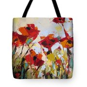 New Poppies Tote Bag