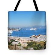 New Port Corfu Tote Bag