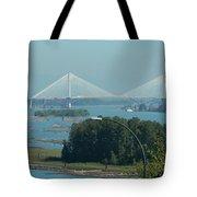 New Port Mann Bridge  Tote Bag