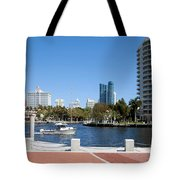 New River In Fort Lauderdale Tote Bag