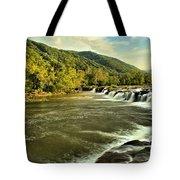 New River Landscape Tote Bag
