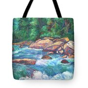 New River Fast Water Tote Bag
