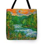 New River Rush Tote Bag