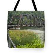New River Scene 14 B Tote Bag