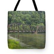 New River Scene 15 B Tote Bag