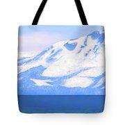 New Snow Lake Tahoe Tote Bag