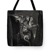 New Terror I Conceived From Dantes Inferno Tote Bag