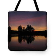 Summer Sunset In Nh Tote Bag