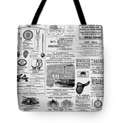 New World Advertising Tote Bag by Richard Reeve