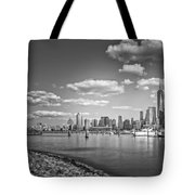 New World Trade Center Bw Tote Bag