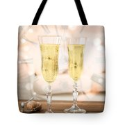 New Year Celebration Tote Bag