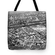 New York 1937 Aerial View  Tote Bag