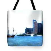 New York 4 Tote Bag
