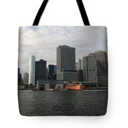 New York And Staaten Island Ferry Tote Bag