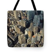 New  York Architecture Tote Bag