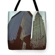 New York Architecture Old And New Tote Bag