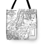 New York: Armies, 1776 Tote Bag