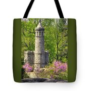 New York At Gettysburg - Monument To 12th / 44th Ny Infantry Regiments-2a Little Round Top Spring Tote Bag