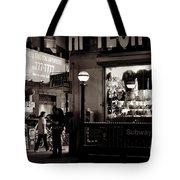Nighthawks Of New York - Subway Tote Bag