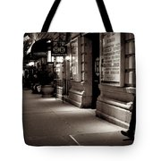 New York At Night - The Phone Call - Theatre District Tote Bag