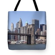 New York Bridge 3 Tote Bag