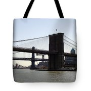 New York Bridge 5 Tote Bag
