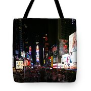 New York - Broadway And Times Square Tote Bag
