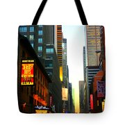 New York By Twilight Tote Bag