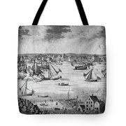 New York City, 1717 Tote Bag