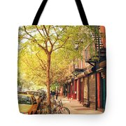 New York City - Autumn In The East Village  Tote Bag