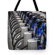 New York City Bikes Tote Bag