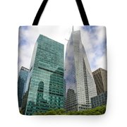 New York City Bryan Park Tote Bag