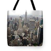 New York City Canyons Tote Bag