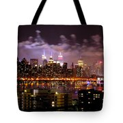 New York City Celebrates Tote Bag